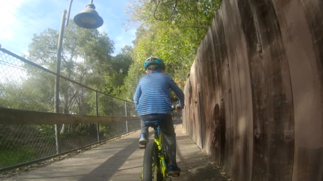 Epic fail on the bridge during riding a bicycle with family video