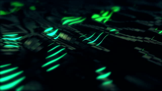 Epic Sci fi Background Loopable C3 video