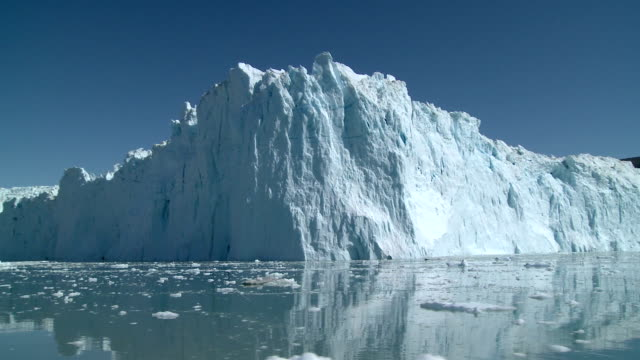 eqi glacier - ледник стоковые видео и кадры b-roll