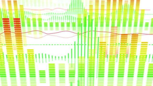 equalizer audio waveform loopable background video