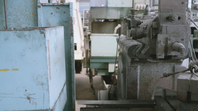 equipment control and tool of industrial factory with rusty, industry manufacturing of machine and production, engines and automation, electronic and processing, business and technology concept. - imperfection stock videos & royalty-free footage