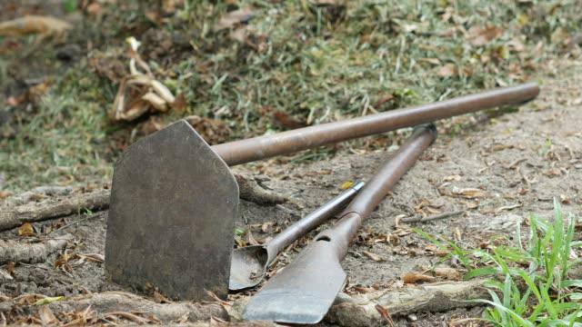 vídeos y material grabado en eventos de stock de equipos para jardín - imperfección