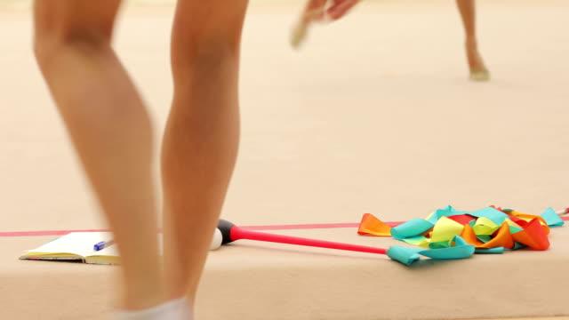Equipment of a Rhythmic Gymnastics Athlete video
