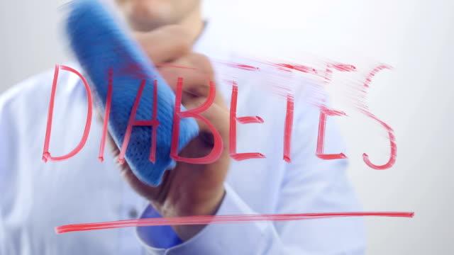 Erase the word DIABETES video