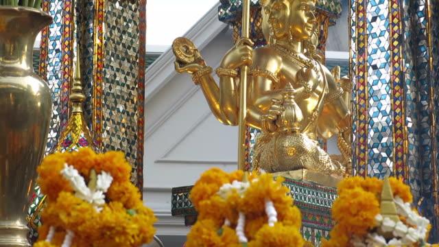 Erawan Shrine - Four faced Buddha video