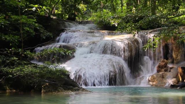 erawan waterfall beautiful waterfalls