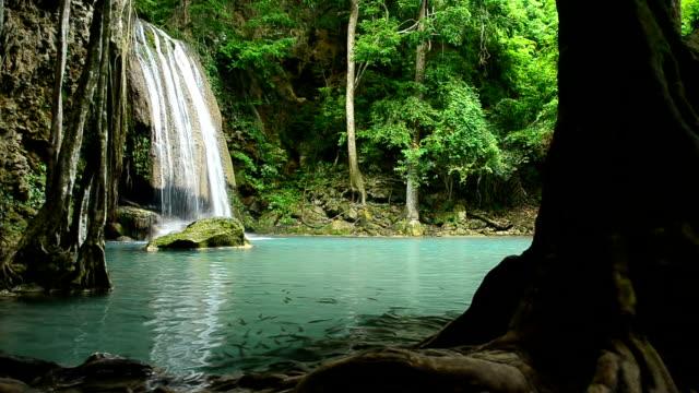 Erawan Waterfall, Kanchanaburi, Thailand video