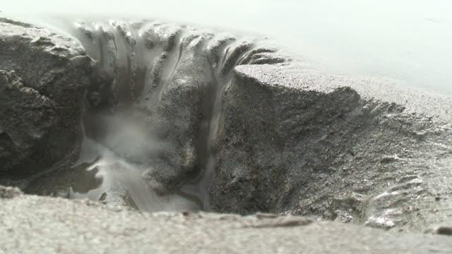 Erosion in the beach video