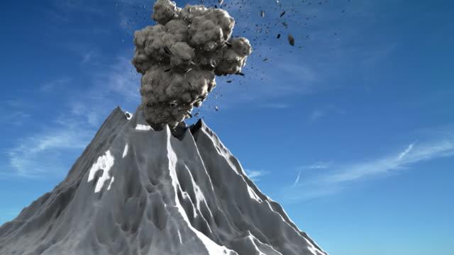 Erupção Vulcão - vídeo