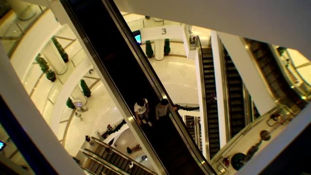 Escalator - Paragon Shopping Mall, Bangkok video