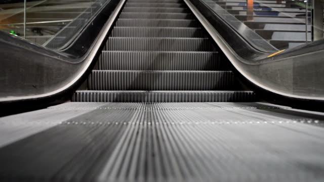 Escalator Running Down video