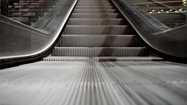 Escalator Running Up video