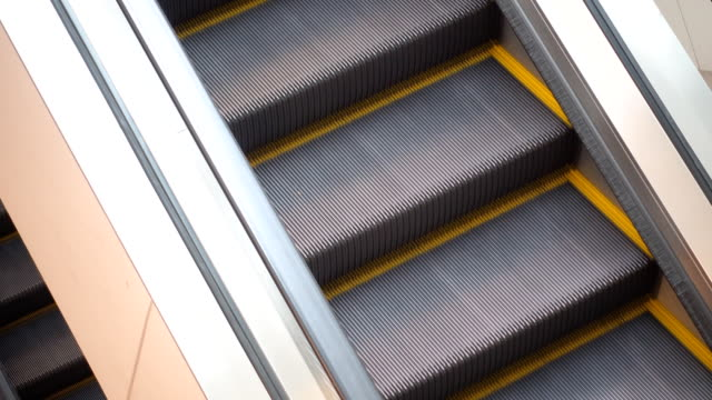 Escalator 'seamless loop' HD - Stock Video video