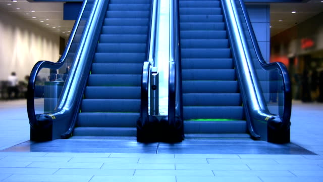 Escalators. video