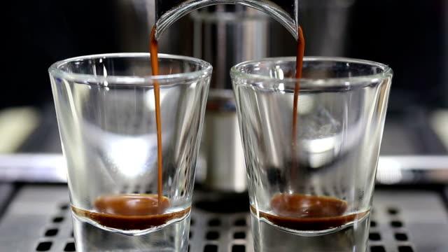 Espresso shot. video