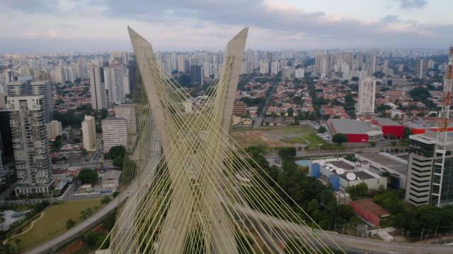 Estaiada Bridge in Marginal Pinheiros River