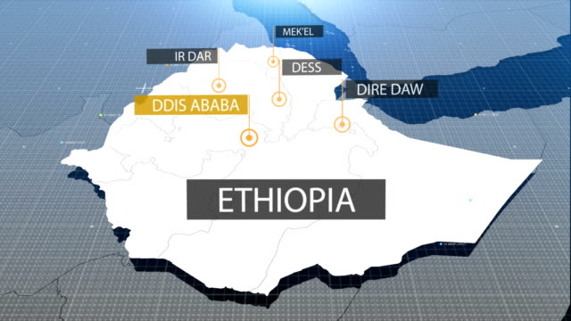 ethiopian map with label then with out label video