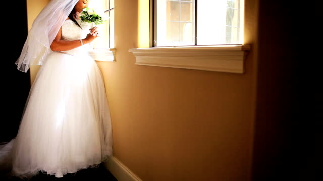 Ethnic Bride Posing Wedding Photographs video