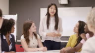 istock Ethnic Female Entrepreneur Pitching A Proposal to a Client 1166883977