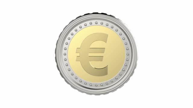 Euro coin video