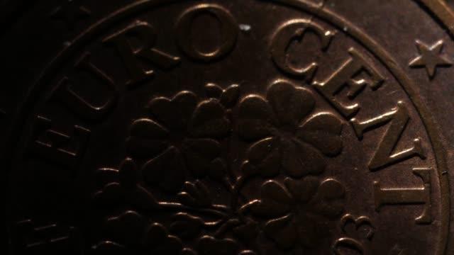 Euro coins macro shots mix Euro coins macro shots mix stamping feet stock videos & royalty-free footage