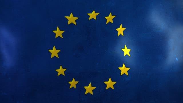 stockvideo's en b-roll-footage met euro vlag - maastricht