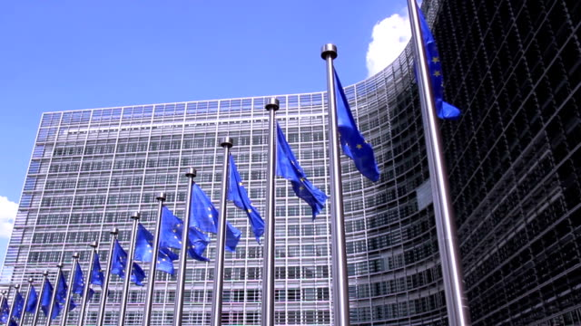 European Commission in Brussels. video
