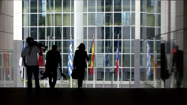 European Parliament Building 5, Brussels video