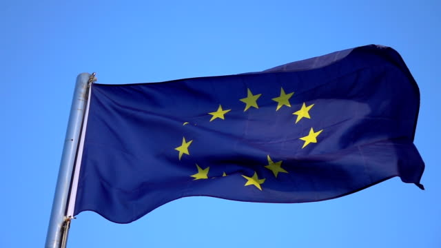 European Union Flag in slow motion 250fps High quality video of European Union Flag in slow motion 250fps european culture stock videos & royalty-free footage