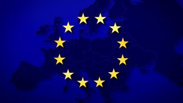 eurostars animation graph down - dept bildbanksvideor och videomaterial från bakom kulisserna