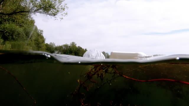 Eutropher See durch Plastikmüll verschmutzt – Video