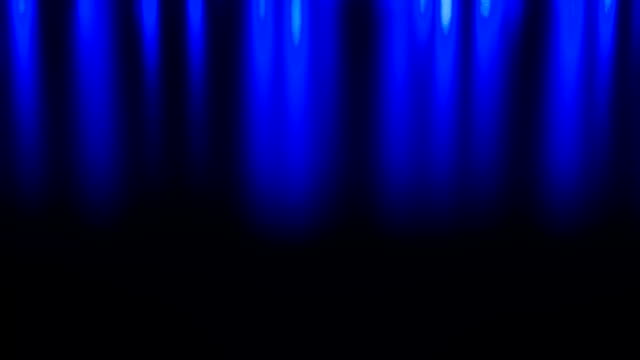 Evening Christmas blue lights dolly shot Defocused Christmas lights, dark blue abstract background dark blue stock videos & royalty-free footage