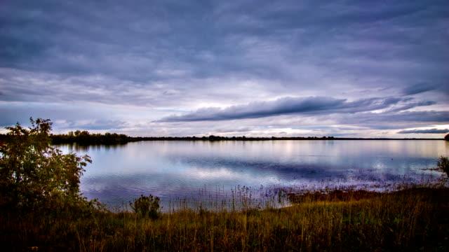 Evening pond video