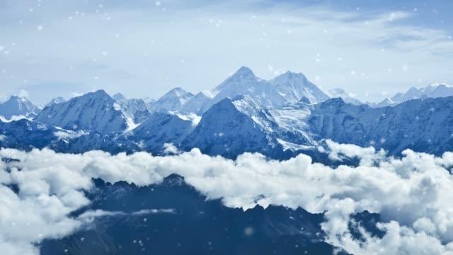 エベレスト - ネパール点の映像素材/bロール