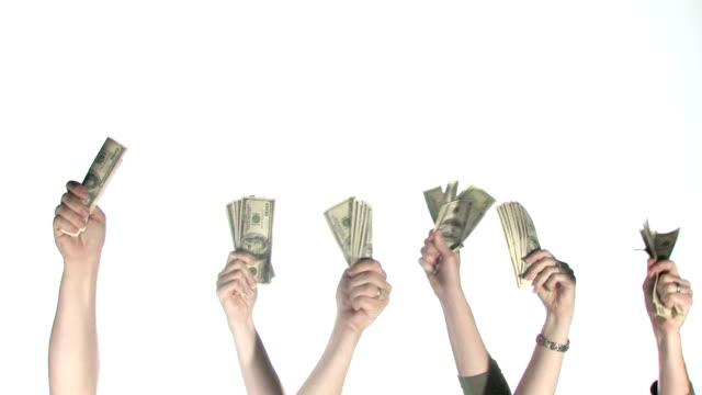 все устраивает наличными - dollar bill стоковые видео и кадры b-roll