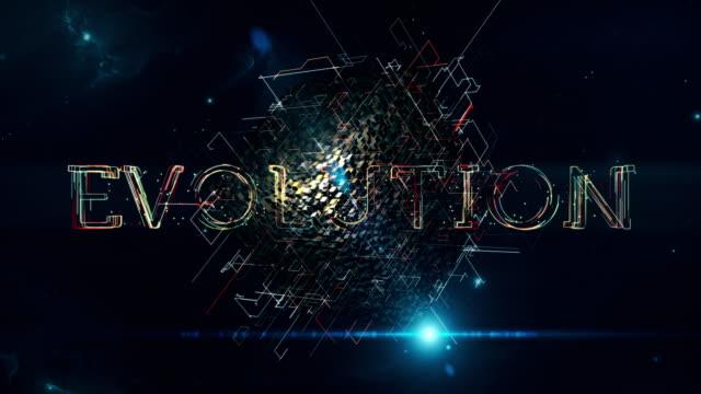 vídeos de stock, filmes e b-roll de cubo de evolução - evolução