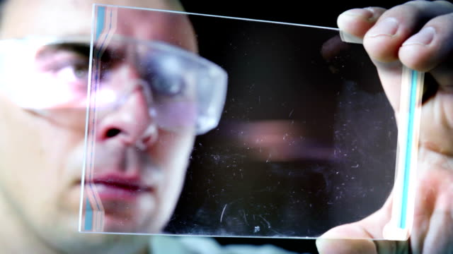 Examining the DNA. video