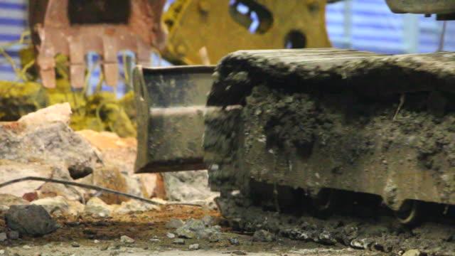 Excavator - Construction Site video