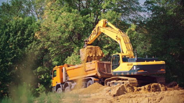 grävmaskin - excavator bildbanksvideor och videomaterial från bakom kulisserna