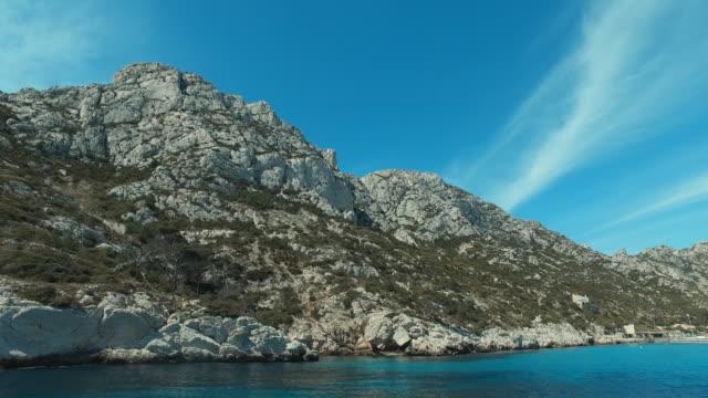 Excursion dans les calanques de Marseille - France - Clip Vidéo Panorama 4K - MA022 - Vidéo