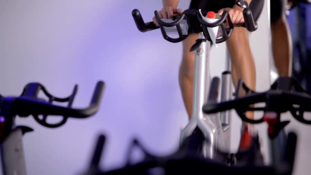 Spinning Class instructor video
