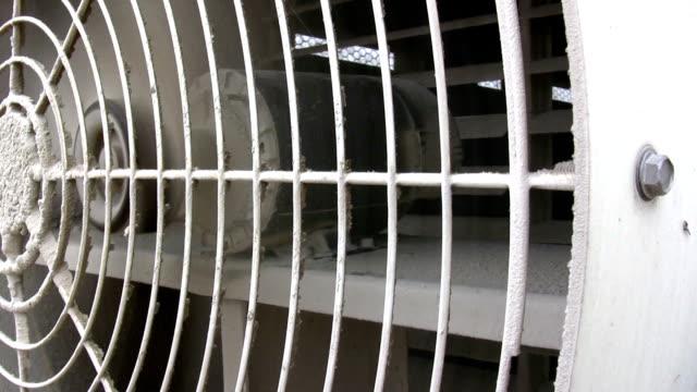 Exhaust Fan on side of Building video