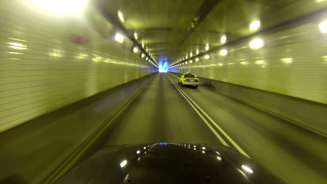 Exiting the Fort Pitt Tunnel High-angle perspective of exiting the Fort Pitt Tunnels in Pittsburgh, Pennsylvania. chasing stock videos & royalty-free footage