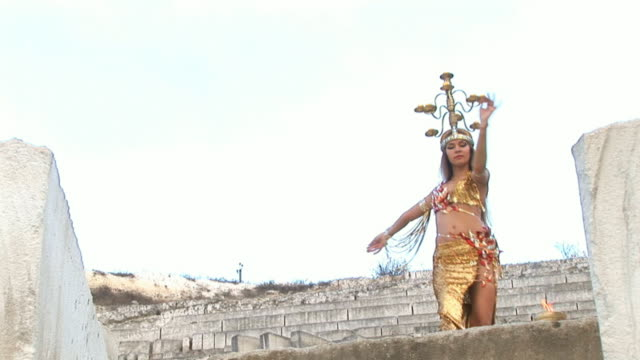 exotic dance in the ancient quarries video
