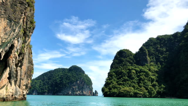 Exotic landscape in Thailand video
