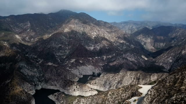 Expansive View of Mountains in California Wilderness video