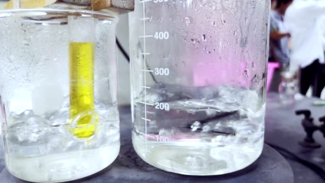 experiment of chemicals,science research and chemical in laboratory. - science research stock videos & royalty-free footage