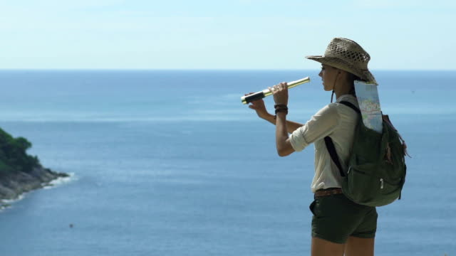 Explorer Observes In Search Of New Lands video