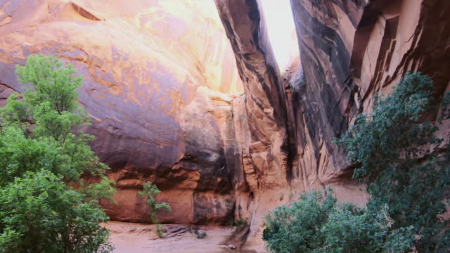 Exploring natural arches near Canyonlands, Moab