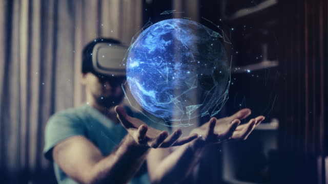 Exploring Planet Earth in Virtual Reality Glasses